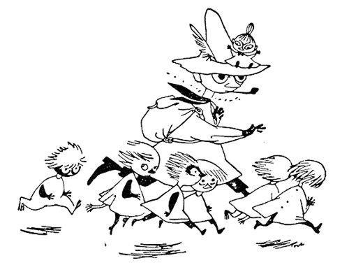 Włóczykij i Dzieci Leśne