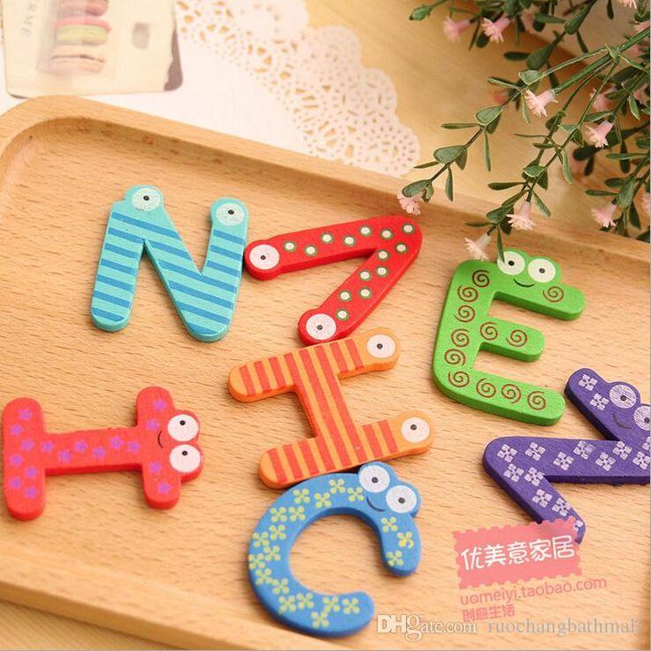 Alibaba Китай Поставщик Детей Раннего Развивающие Игрушки Магнитные Буквы