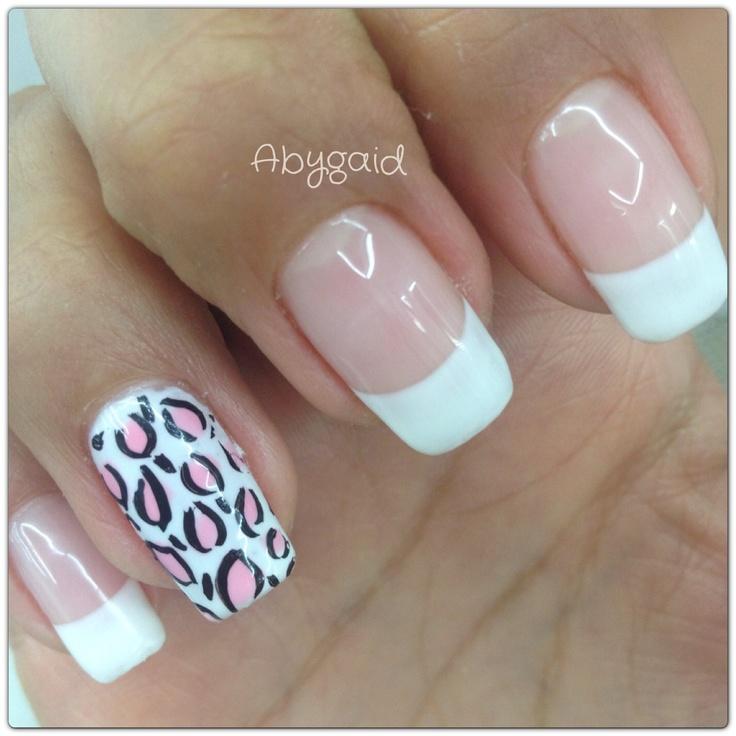 Decorado con Gelish en uña natural! | Cute nails