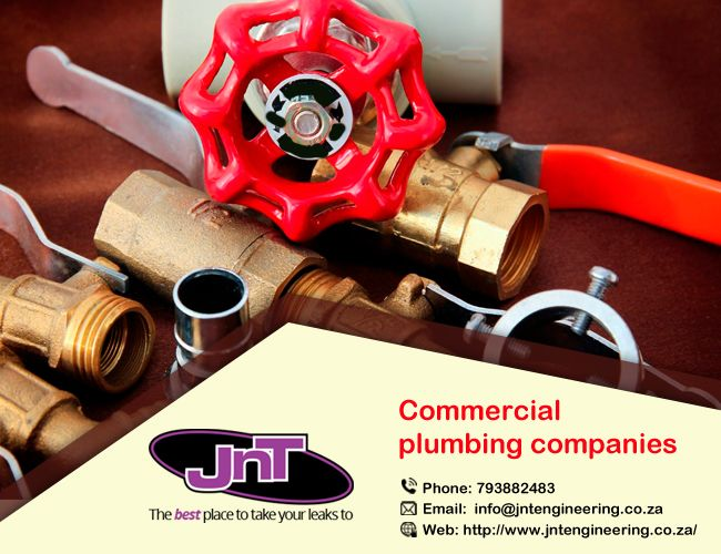 Provide Commercial #Plumbing #Company Working with an assortment of organizations, @corporate, and different bodies everywhere business premises, for example, malls, stores, #business parks, office buildings, houses and stadiums. visit- http://bit.ly/2iH0Vqs