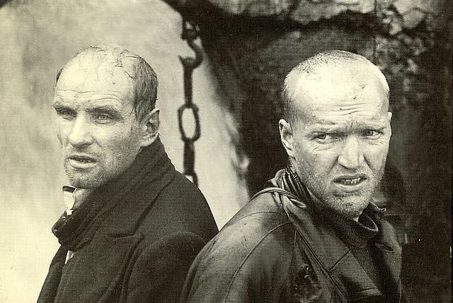 """Alexander Kaidanovsky and Solonitsyn  from Tarkovsky's """"Stalker"""" by nkimadams, via Flickr"""