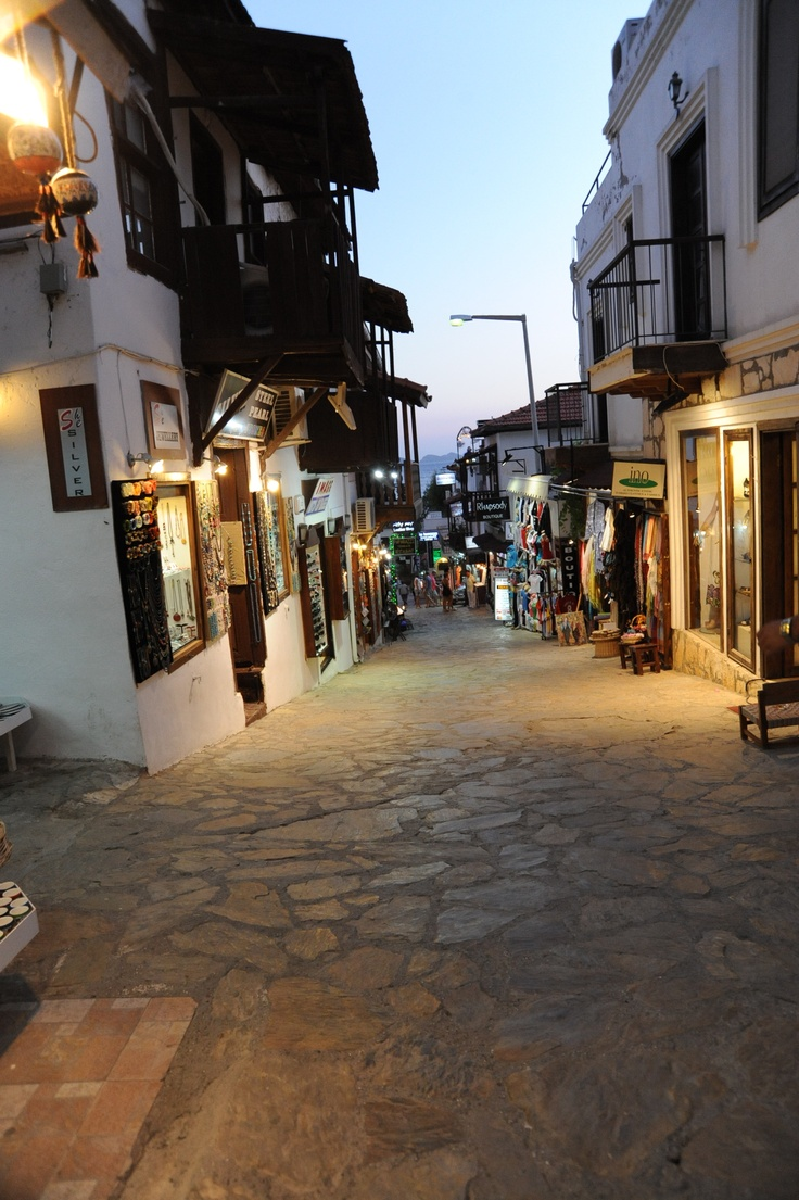 Kalkan, before the evening really gets going...