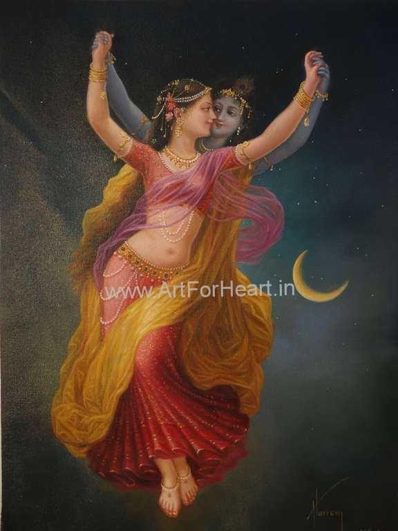 Radha Krishna Paintings | ART FOR HEART