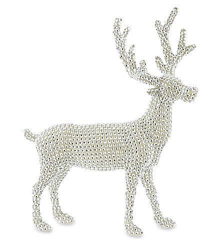 GISELA GRAHAM Small diamanté reindeer