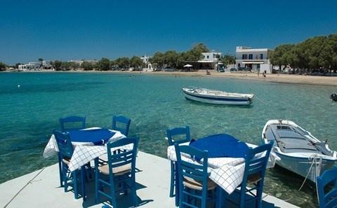 Intercambio de casa en la isla de #Paros, en el puerto de Alyki (islas Cícladas, #Grecia). ¡El paraíso para estas vacaciones!