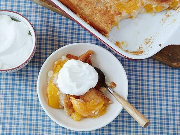 Get Easy Peach Cobbler Recipe from Food Network
