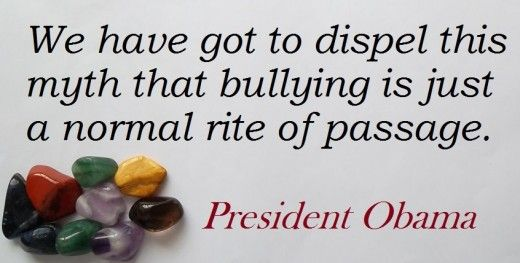 This article includes the quote by President Barack Hussein Obama, and many more, plus insights and case studies of hate, bullying and its consequences