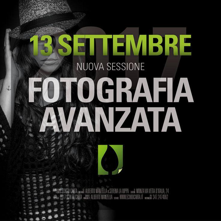 CORSO di FOTOGRAFIA AVANZATA Mercoledì 13 Settembre 2017. Sede di Monza via Vetta d'Italia, 24 Iscrizioni aperte da sabato 20 Maggio 2017. Posti limitati a 25. © 2017 ECHI di CARTA Tutti i diritti riservati. www.echidicarta.it #corsidifotografia #echidicarta #fotografia #fotografiamonza #fotografiaavanzata #avanzata #fotoavanzata #albertomanzella #portrait #ritratto #corsibrianza #unodinoi #corsibrianza #brianza #fotoritratto #fotopaesaggio #fotonudo #workshop #fotoworkshop