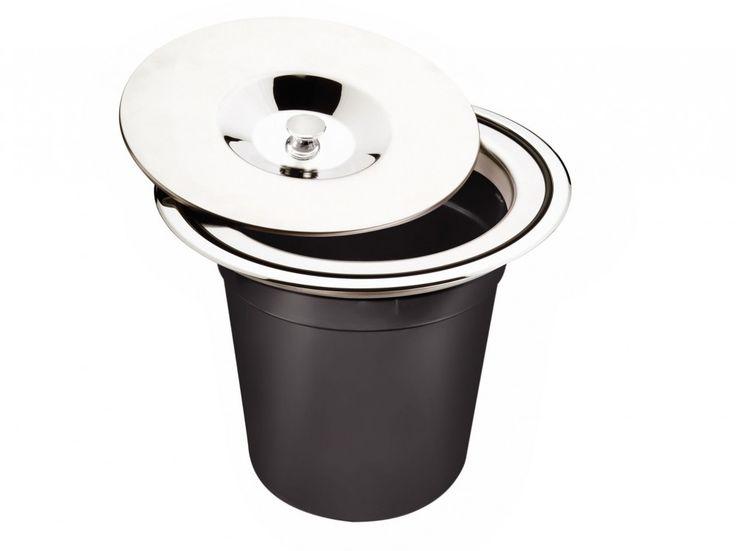 Lixeira para Embutir 5 Litros - Tramontina - Hidronox Casa das pias e cubas em inox