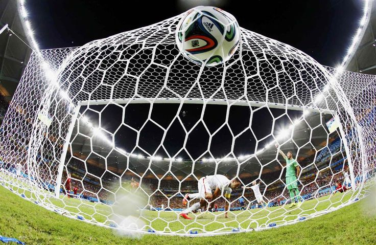 Clint Dempsey of the U.S. knocks the ball into the net to score against Portugal during their 2014 World Cup Group G soccer match at the Amazonia arena in Manaus, Brazil, June 22, 2014