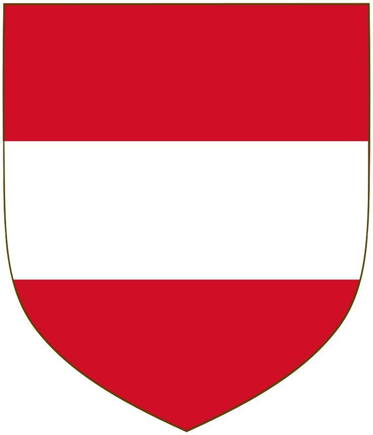 Stemma dell'Arciducato d'Austria | Stemmi araldici e bandiere degli ...
