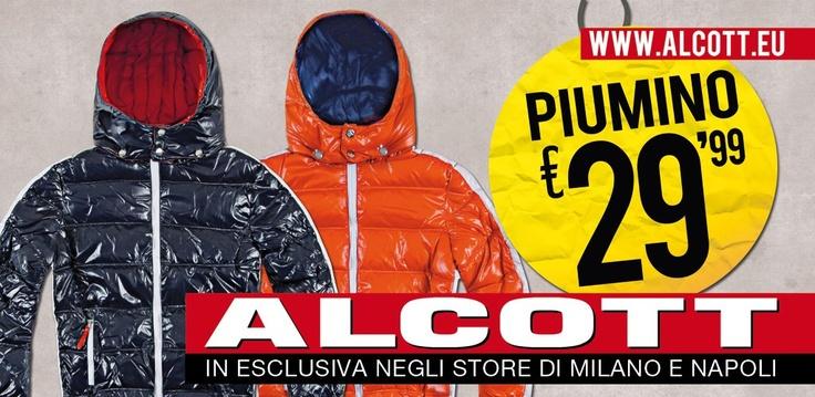 In vista della stagione invernale è arrivato un prodotto di tendenza e qualità ad un prezzo imbattibile! Disponibile in tantissime varianti colore tra cui nero, blue, verde, grigio ed un divertentissimo orange, per i più estrosi che non vogliono rinunciare ad un tocco di colore, nemmeno con il freddo!   L'appuntamento è quindi presso i Concept Store Alcott di Napoli e Milano, a partire da questo fine settimana! www.alcott.eu #milano   #napoli   #alcott   #piumini