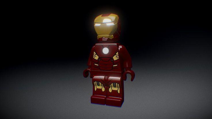 Lego Iron Man Mk7 by imesteves