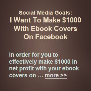 In order for you to effectively make $1000 in net profit with your ebook covers on Facebook, you will need to have set or defined a social media profit goal for your ebook covers design business for some specific period of time … more >> #SocialMediaMarketing #SocialMedia #SMM #SMO #Social #Marketing #Sales #Business #Ecommerce #Commerce #Ebook #Covers #Design