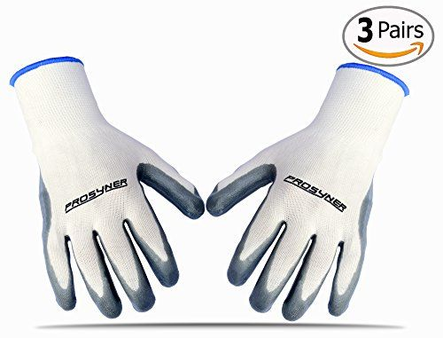 best gardening gloves. Premium Quality Nylon Nitrile Garden Gloves Best Waterproof Gardening Glove Fits Women And Men Perfect For Rose Pruning Heavy Duty 3 Pairs \u003e\u003e\u003e Details Can L