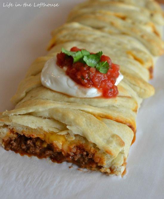 Taco Braid. SO easy and SO good!