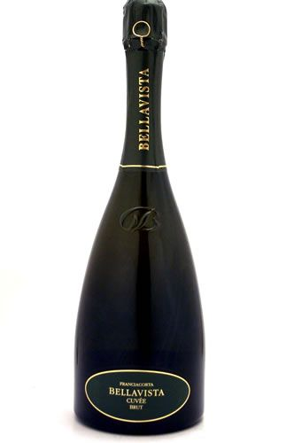 Of all the Bellavista wines, the Cuvée Brut is that which best represents the area of Franciacorta. Its balance lies in the combination of at least thirty selections. The addition of aged wines gives constancy to the taste of Casa Bellavista. The grapes are 80% Chardonnay, and 20% Pinot Bianco and Pinot Nero. DOCG on the label means it achieves the highest standards set by Italy for wine.