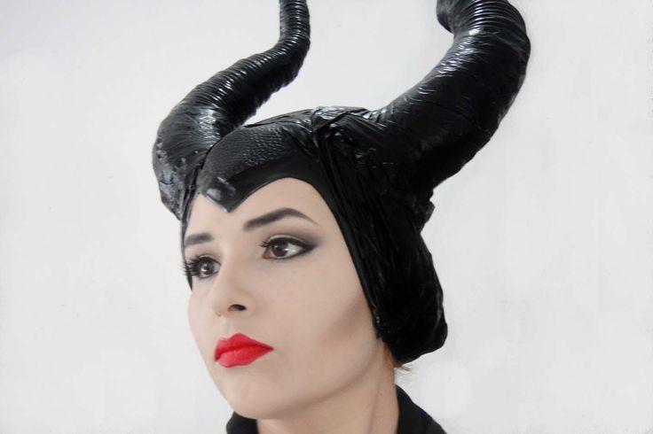 DIY♥Como hacer los Cuernos de Malefica♥Horns Maleficent