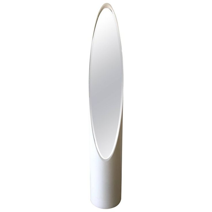 """Roger Lecal """"Lipstick"""" Standing Floor Mirror 