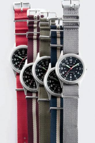 timex military watch in nato straps.