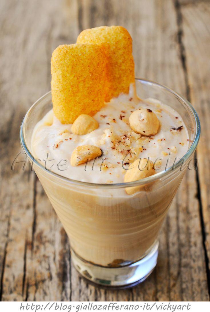Coppa al caffe e nocciole allo yogurt vickyart arte in cucina