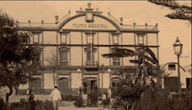 Teatro Municipal de Tacna en 1908