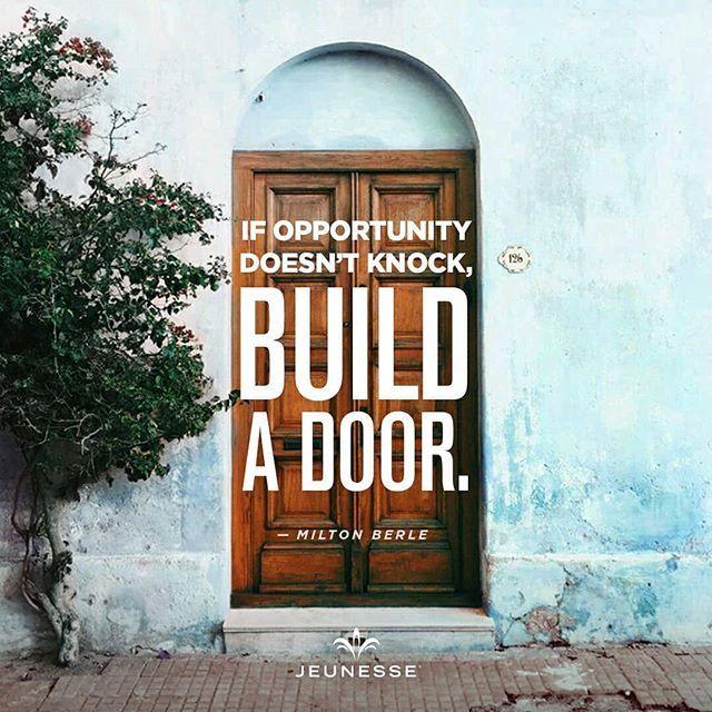 Jika kesempatan tidak kunjungi datang buatlah pintu masuk untuk peluang yang diinginkan.
