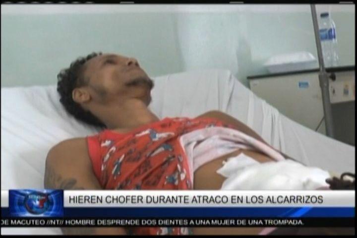 Chófer De Transporte Público Fue Herido Durante Atraco