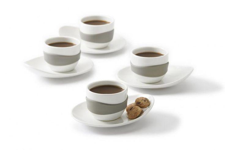 Zestaw filiżanek do #espresso - 60 ml - PO SELECTED - DECO Salon #set #giftidea #forher #coffeelovers