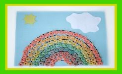 St #Patricks Day Fruit Loops craft for #children! #Rainbow craft- so simple and easy! #educational #resources #preschool