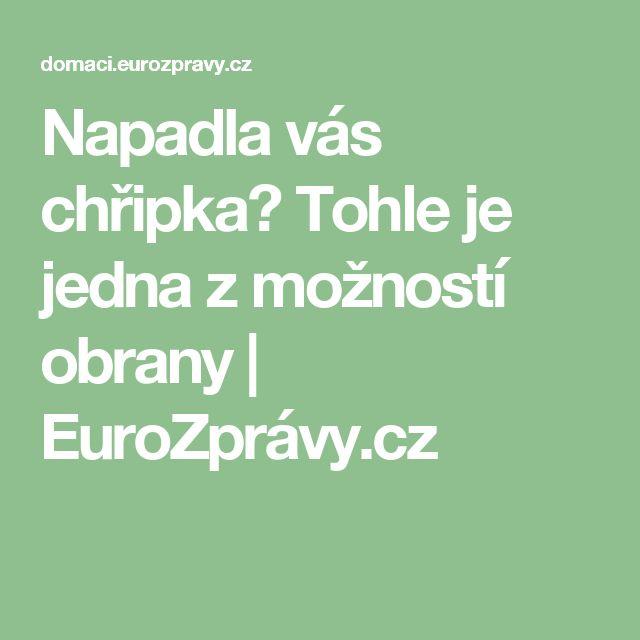 Napadla vás chřipka? Tohle je jedna z možností obrany   EuroZprávy.cz