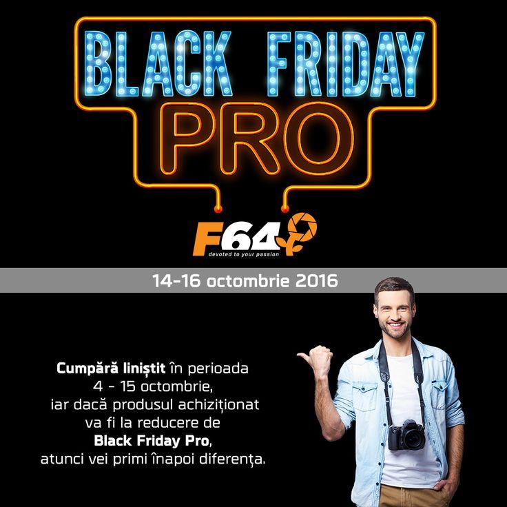 Black Friday Pro la F64 aduce preturi mai mici cu pana la 65%