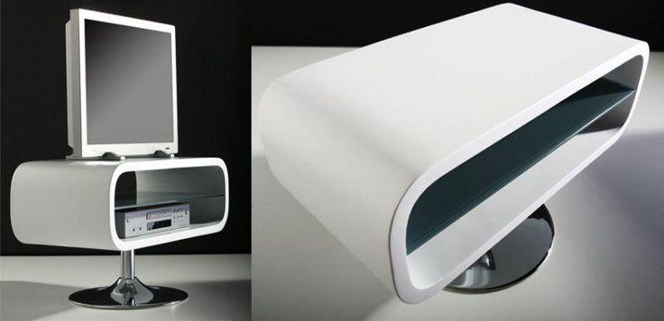 SCOOP / tv flatscreen hifi meubel | Tafels - Bureau | Design meubels, Retro verlichting & cadeaushop, Space Age new vintage