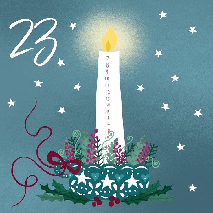 Happy Christmas Eve eve, or as we call it.. Christmas Adam! I'm having a marathon baking day today. What are you all up to? I'm getting so excited for the big day! . . #illo_advent #illo #illustration #draweveryday #adventcandle #christmasadam #12daysofchristmas #bbillustration #creativebusiness #potd #makersmovement #creativityfound #christmaseveeve #woohoo #christmas2017 #etsyuk #etsyundiscovered #etsyseller #candlelight #candles #festivefeelings