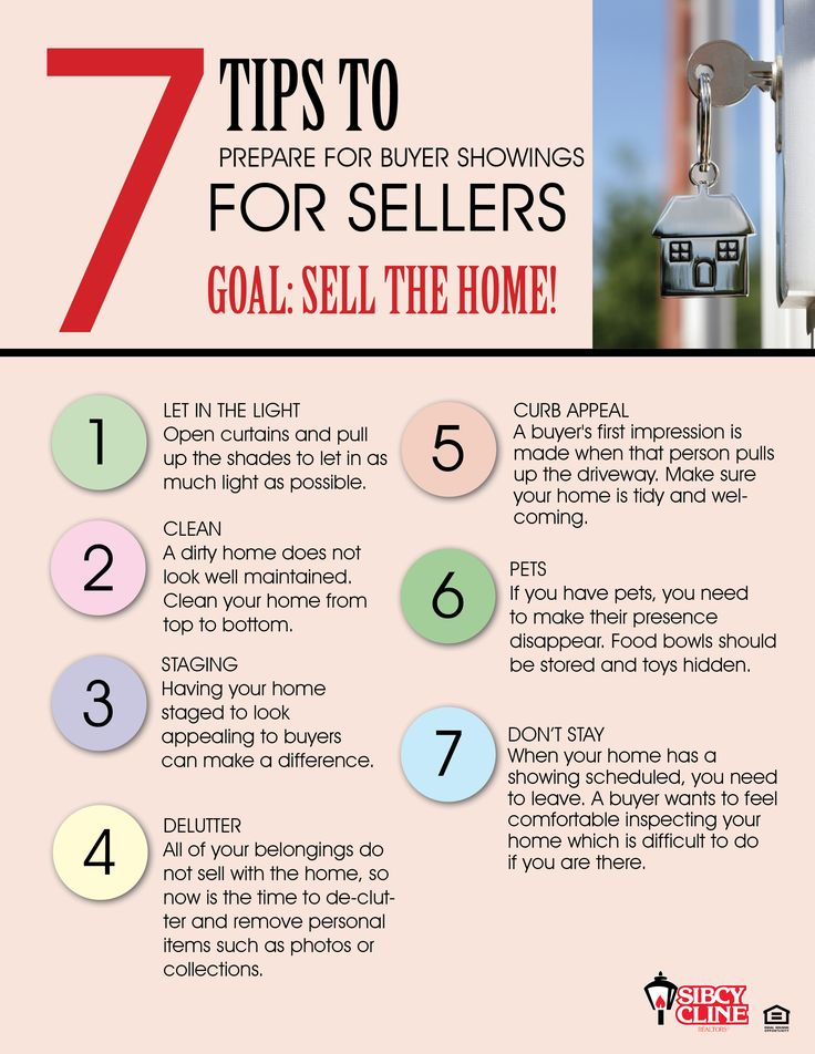 """7 Tips To Get Your Home Prepared for Showings When Selling It [From Real Estate Professional] ✦ Your home is on the market and you want it to sell fast for the highest possible price. Here are some tips to get your home """"show ready"""" for buyers."""