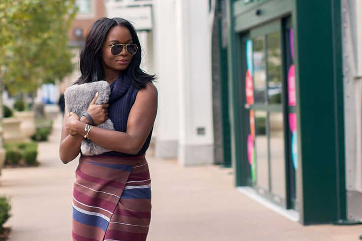 Atlanta fashion blogger, Millennielle, explores Alpharetta's Avalon shopping center as part of OASIS Fashion's #UpMyStreet F/W 2015 campaign.