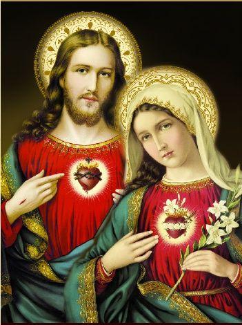 Os devotos do Sagrado Coração de Jesus são sempre muito devotos do Imaculado Coração de Maria. (ICM) DATA: Sábado logo depois da Solenidade do (SGJ) que se dá na última sexta feira do mês Junho.  Esta íntima ligação entre estas devoções existe porque toda verdadeira devoção ao Coração de Maria conduz ao Coração de Jesus, que no momento derradeiro da sua vida terrena nos confiou à sua Mãe. Dessa forma, Maria nos conduz a Cristo, e Cristo nos conduz a Maria.