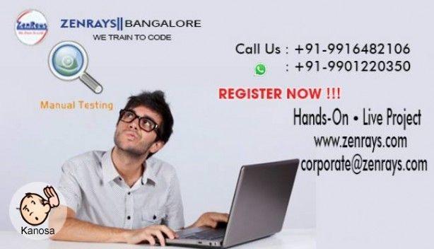manual testing training in bangalore