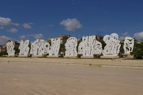 Città di Tebe, 1988, Pietro Consagra