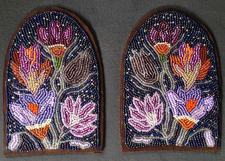 Metis moccasin vamps from the *Walking With Our Sisters* project