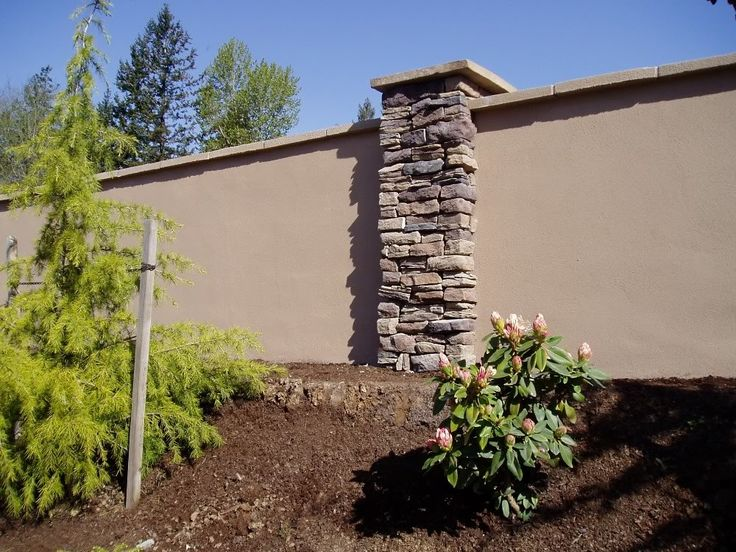 Best 25 stucco walls ideas on pinterest stucco interior for Stucco garden wall designs