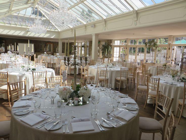 A bright Summer Wedding in the Orangery <3