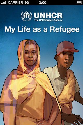 Gratis app. Arbejd med kulturmødet. Vælg en hovedperson og tag gennem forløbet beslutninger som flygtning. Oplev  din egen hovedpersons flugt, den vil være forskellig fra din nabo.