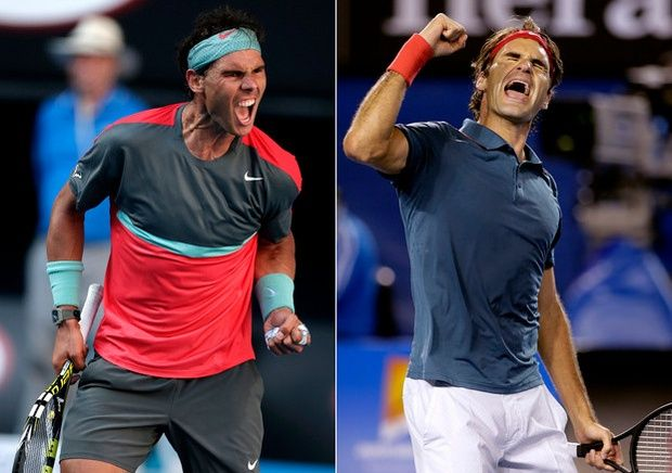 Fedal XXXIII  Love watching these two play tennis