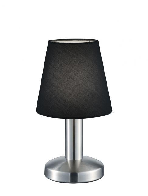 599600102 Trio - stolová dotyková lampa - čierna - 240mm