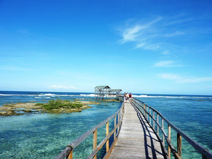 Surf Capital Of The Philippines Siargao Surigao Del Norte Where Tourists Especially Ausie