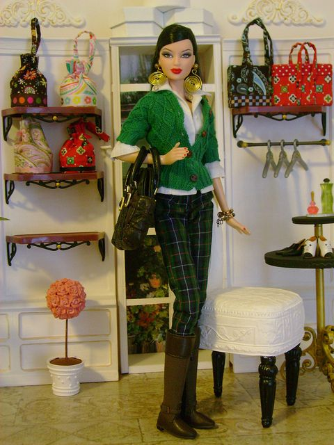 Barbie shopping Vera Bradley by Wandy in Pensacola, via Flickr