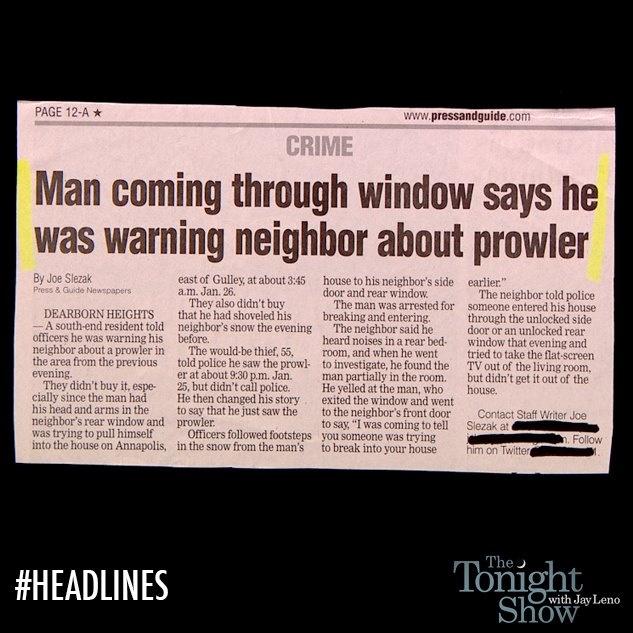 That makes perfect sense. #Headlines