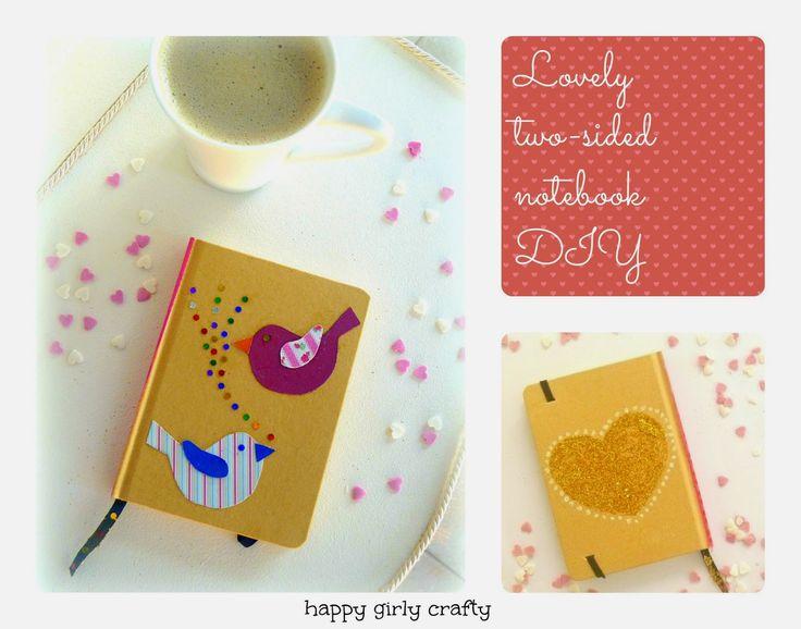 personalised notebook DIY