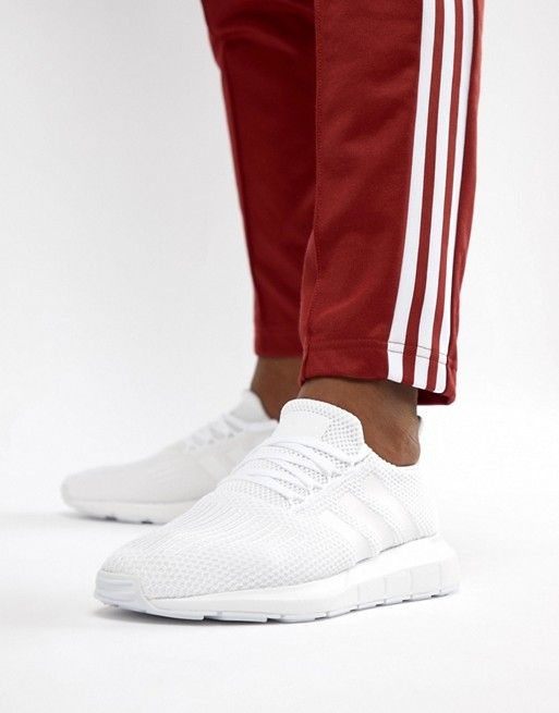 13283d3192f16 adidas Originals - Swift Run Sneakers In White -  90.00